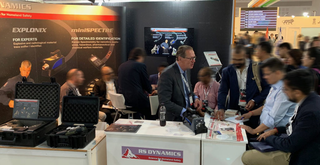 RS DYNAMICS ISDEF 2019 EXPO booth No. 8011